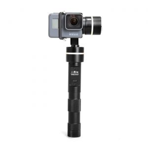 Feiyu Tech G4 GoPro gimbal review front view