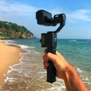 REMOVU S1 Splashproof GoPro Gimbal on the beach