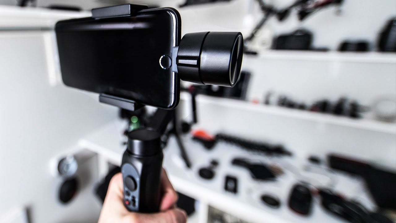 Zhiyun Smooth Q Smartphone 3 Axis Gimbal Reviewed Tested Feiyu Spg Handheld Steady For Smartphones Extra Battrey