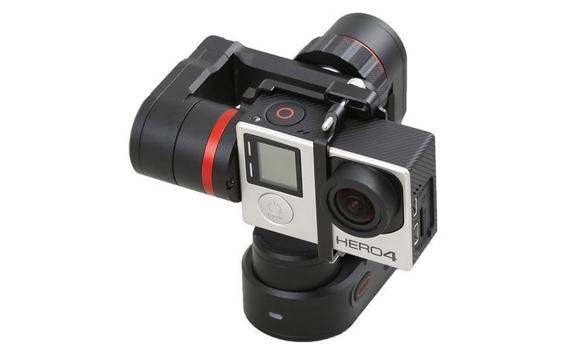 Feiyu Tech WG2 Gimbal with GoPro 4
