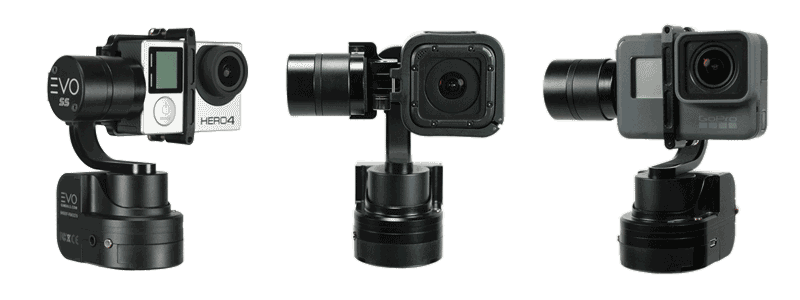 EVO SS gopro gimbal compatibility with Gopro Cameras