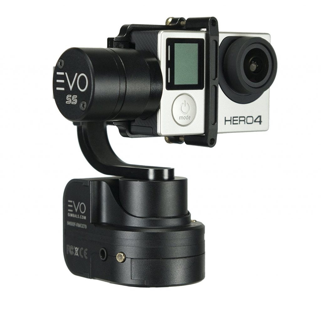 EVO SS Wearable GoPro gimbal Hero4