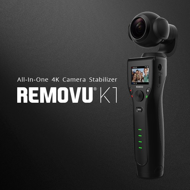 REMOVU K1 All-In-One Stabilizer promo image