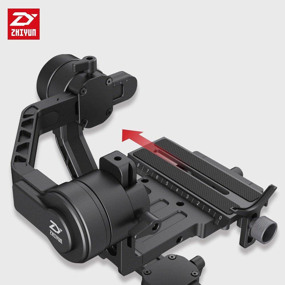 Zhiyun-Tech Crane 2 Mirrorless Gimbal - Manfrotto Quick Release Plate