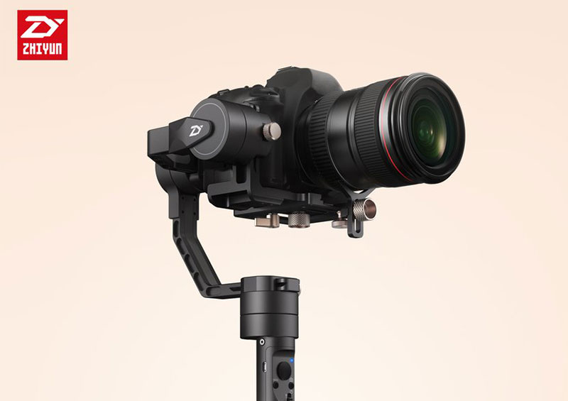 Crane Plus From Zhiyun… A new DSLR gimbal with AI